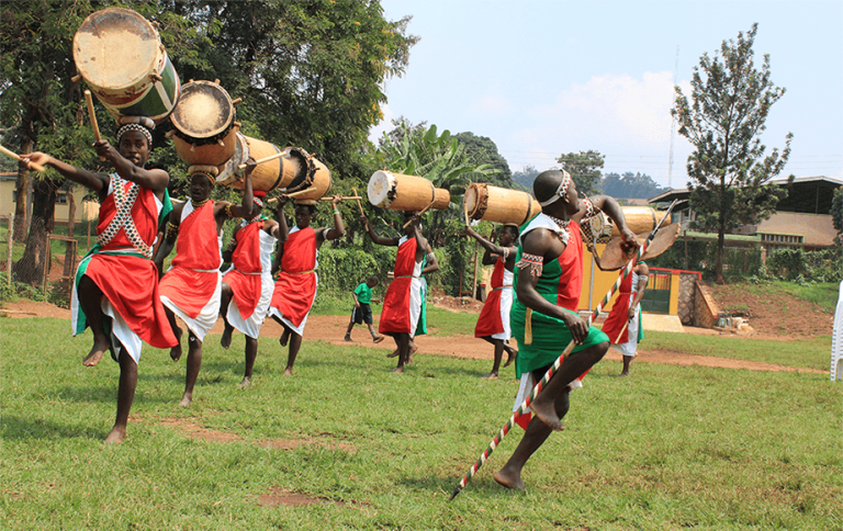 Burundian Community Entertaining Participants