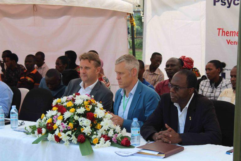 Invited Guests, L-R; H.E Ambassador of the Netherlands to Uganda, RLP's Director, & CEO ACTV