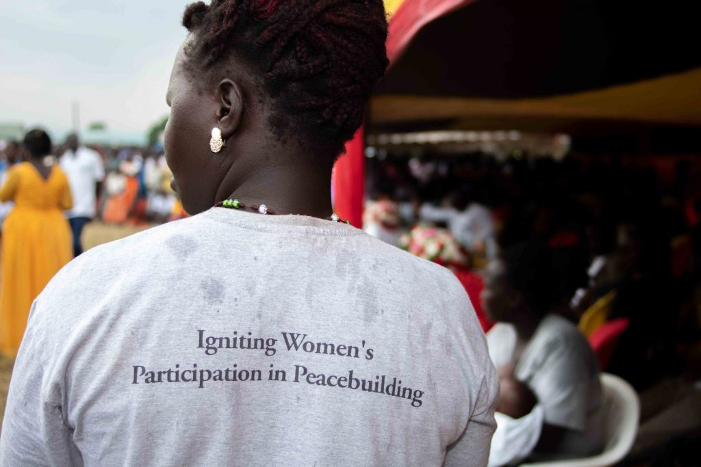 Igniting Women Participation in Peace Building_onendavid.com